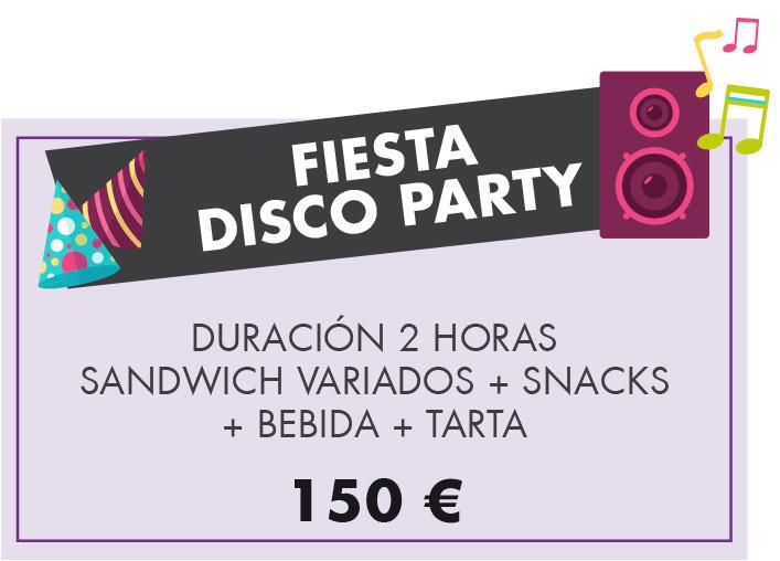 Fiestas y cumpleaños infantiles: fiesta Disco Party